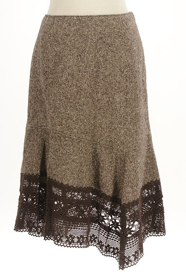SCOT CLUB(スコットクラブ)の古着「裾レース変形マーメイドスカート(スカート)」大画像1へ