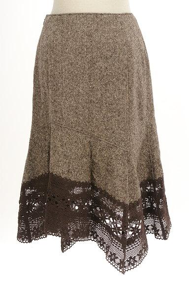 SCOT CLUB(スコットクラブ)の古着「裾レース変形マーメイドスカート(スカート)」大画像2へ