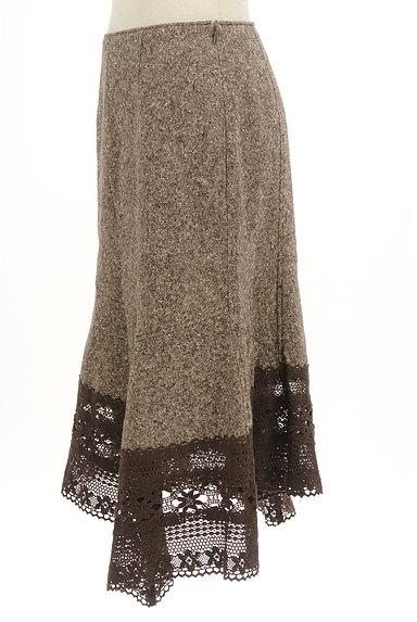 SCOT CLUB(スコットクラブ)の古着「裾レース変形マーメイドスカート(スカート)」大画像3へ