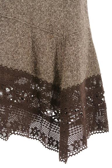 SCOT CLUB(スコットクラブ)の古着「裾レース変形マーメイドスカート(スカート)」大画像5へ