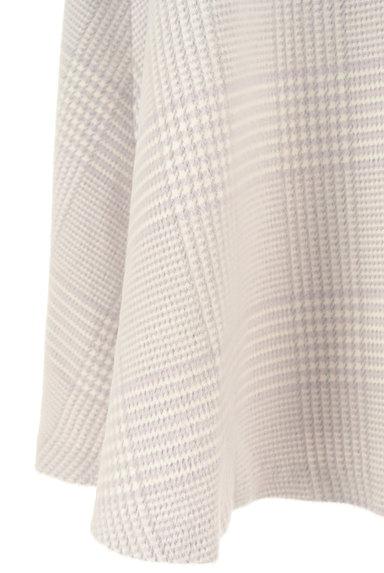 Couture Brooch(クチュールブローチ)の古着「膝下丈起毛チェック柄フレアスカート(スカート)」大画像5へ