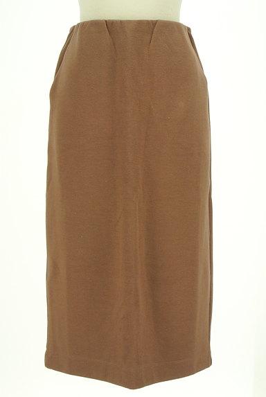ROSE BUD(ローズバッド)の古着「膝下丈ストレッチスカート(スカート)」大画像1へ