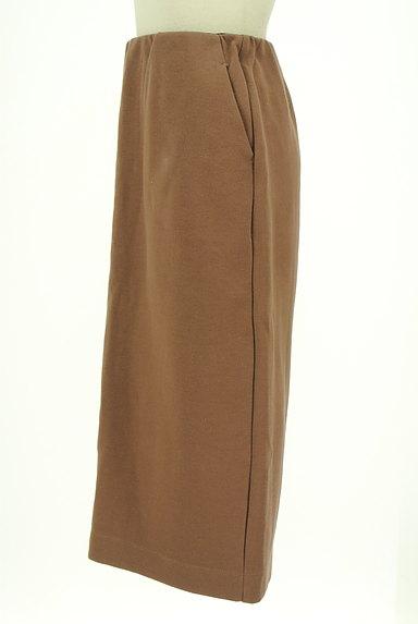 ROSE BUD(ローズバッド)の古着「膝下丈ストレッチスカート(スカート)」大画像3へ