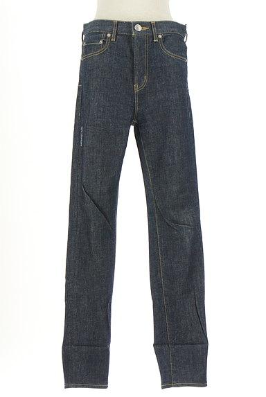 Antgauge(アントゲージ)の古着「ロールアップインディゴジーンズ(デニムパンツ)」大画像1へ