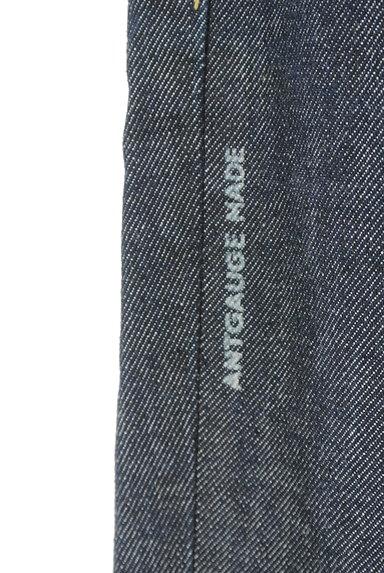 Antgauge(アントゲージ)の古着「ロールアップインディゴジーンズ(デニムパンツ)」大画像5へ
