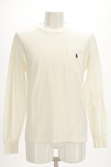 Polo Ralph Lauren(ポロラルフローレン)の古着「ポケット付きワンポイントカットソー(カットソー・プルオーバー)」大画像1へ