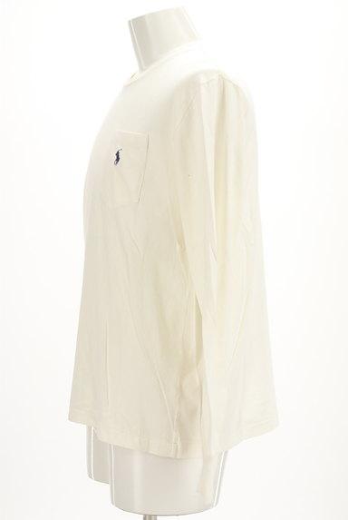 Polo Ralph Lauren(ポロラルフローレン)の古着「ポケット付きワンポイントカットソー(カットソー・プルオーバー)」大画像3へ