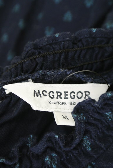 McGREGOR(マックレガー)の古着「シャーリングフリルネックカットソー(カットソー・プルオーバー)」大画像6へ