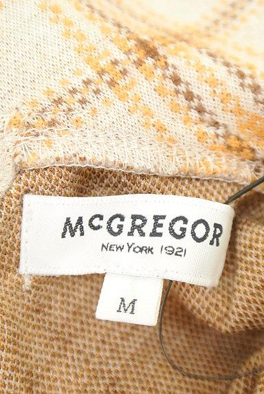 McGREGOR(マックレガー)の古着「チェック柄襟付きプルオーバー(ニット)」大画像6へ