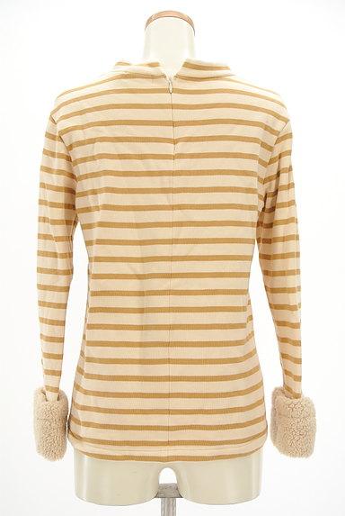 McGREGOR(マックレガー)の古着「袖口ボア裏起毛ボーダープルオーバー(カットソー・プルオーバー)」大画像2へ