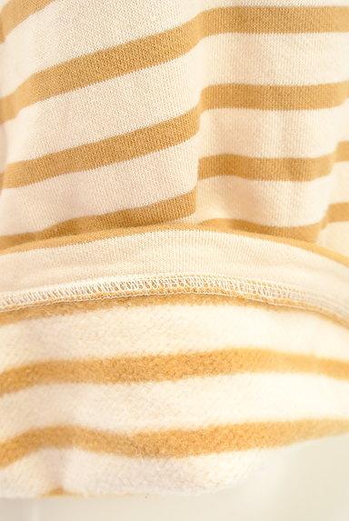 McGREGOR(マックレガー)の古着「袖口ボア裏起毛ボーダープルオーバー(カットソー・プルオーバー)」大画像4へ