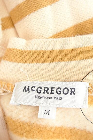 McGREGOR(マックレガー)の古着「袖口ボア裏起毛ボーダープルオーバー(カットソー・プルオーバー)」大画像6へ