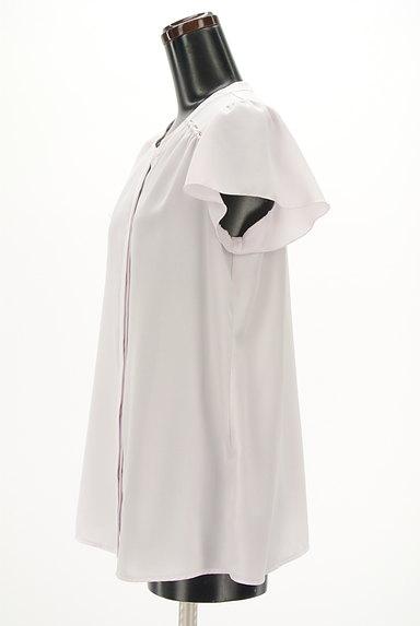 PROPORTION BODY DRESSING(プロポーションボディ ドレッシング)の古着「ビーズ付きシフォンブラウス(ブラウス)」大画像3へ
