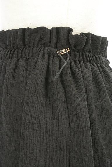 PROPORTION BODY DRESSING(プロポーションボディ ドレッシング)の古着「ウエストドロストシフォンロングスカート(ロングスカート・マキシスカート)」大画像4へ