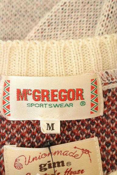 McGREGOR(マックレガー)の古着「星条旗プリントミックスウールニット(ニット)」大画像6へ