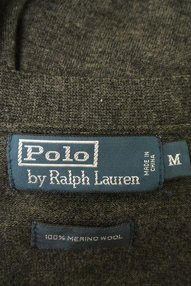 Polo Ralph Lauren(ポロラルフローレン)の古着「Vネックシンプルカーディガン(カーディガン)」大画像6へ