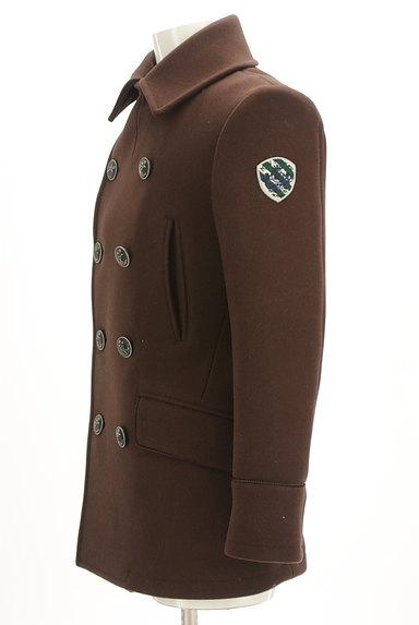 NEW YORKER(ニューヨーカー)の古着「ミドル丈エンブレム付きウールコート(コート)」大画像3へ
