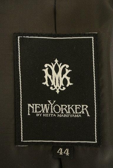 NEW YORKER(ニューヨーカー)の古着「ミドル丈エンブレム付きウールコート(コート)」大画像6へ