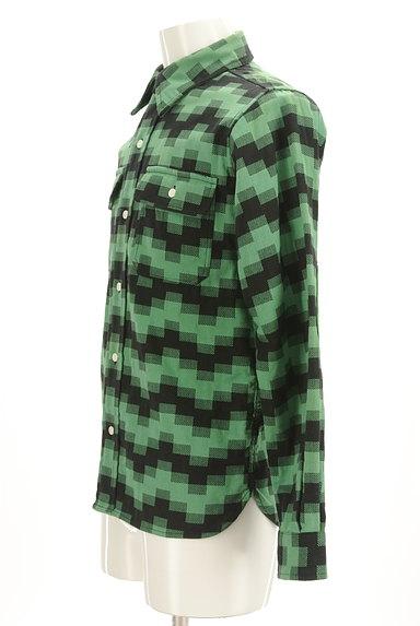 BILLIONAIRE BOYS CLUB(ビリオネアボーイズクラブ)の古着「肘当てワッペン付きカジュアルシャツ(カジュアルシャツ)」大画像3へ