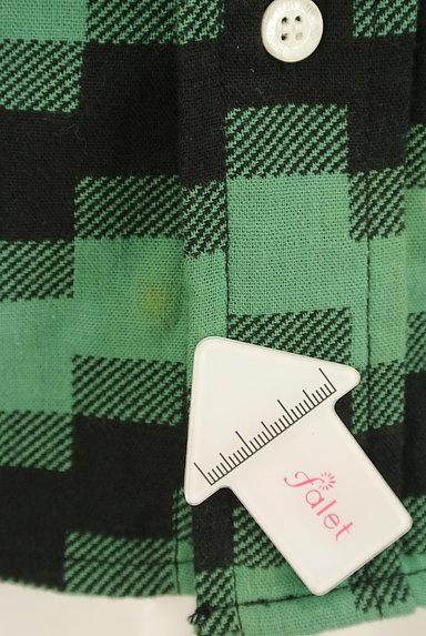 BILLIONAIRE BOYS CLUB(ビリオネアボーイズクラブ)の古着「肘当てワッペン付きカジュアルシャツ(カジュアルシャツ)」大画像5へ