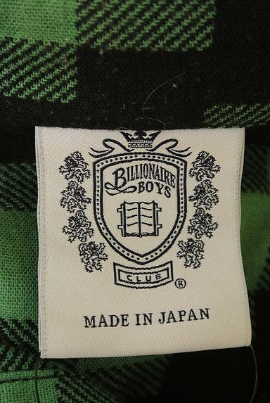 BILLIONAIRE BOYS CLUB(ビリオネアボーイズクラブ)の古着「肘当てワッペン付きカジュアルシャツ(カジュアルシャツ)」大画像6へ