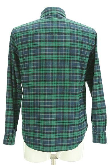 BILLIONAIRE BOYS CLUB(ビリオネアボーイズクラブ)の古着「ワンポイント刺繍フランネルシャツ(カジュアルシャツ)」大画像2へ