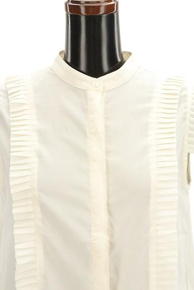 BEAMS Women's(ビームス ウーマン)の古着「タックプリーツシアーブラウス(ブラウス)」大画像4へ