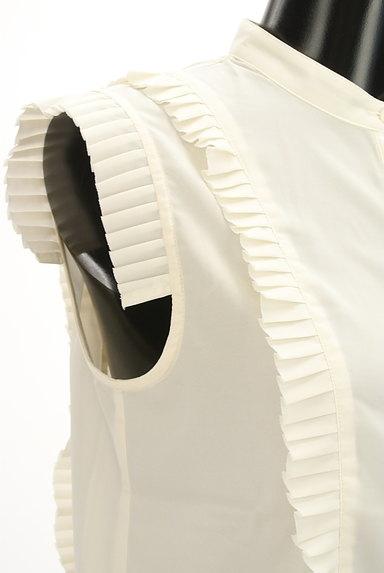 BEAMS Women's(ビームス ウーマン)の古着「タックプリーツシアーブラウス(ブラウス)」大画像5へ