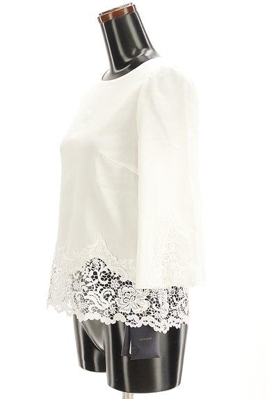 JUSGLITTY(ジャスグリッティー)の古着「刺繍レース7分袖ブラウスカットソー(カットソー・プルオーバー)」大画像3へ