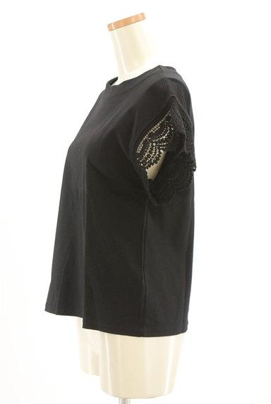URBAN RESEARCH DOORS(アーバンリサーチドアーズ)の古着「スカラップ刺繍袖ワイドカットソー(カットソー・プルオーバー)」大画像3へ