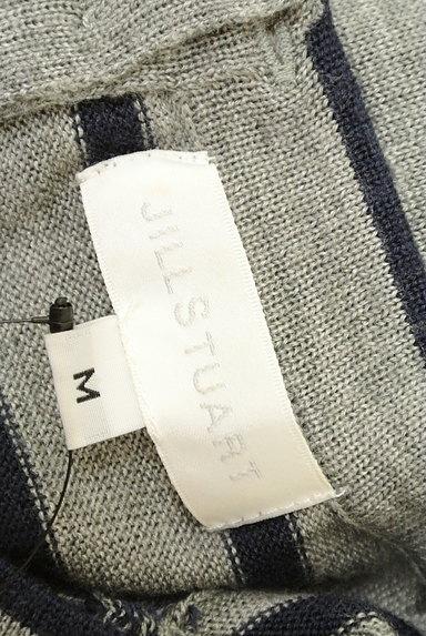 JILLSTUART(ジルスチュアート)の古着「パフスリーブ長袖ボーダーニット(ニット)」大画像6へ