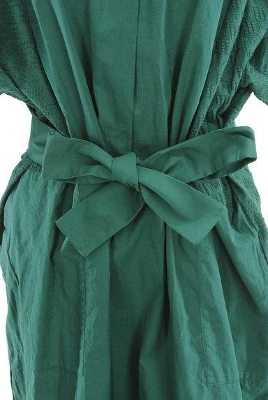 HUMAN WOMAN(ヒューマンウーマン)の古着「刺繍ドルマン袖ロングワンピース(ワンピース・チュニック)」大画像5へ