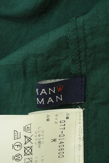 HUMAN WOMAN(ヒューマンウーマン)の古着「刺繍ドルマン袖ロングワンピース(ワンピース・チュニック)」大画像6へ