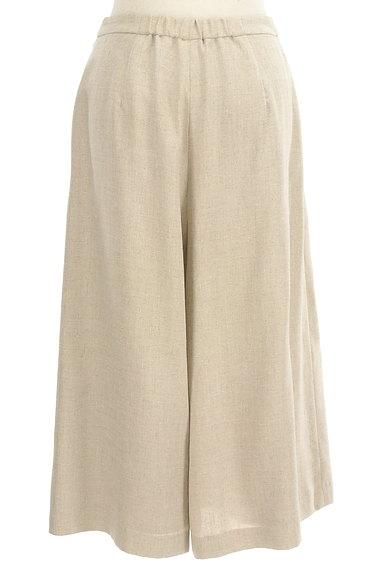 HUMAN WOMAN(ヒューマンウーマン)の古着「ナチュラルワイドミモレパンツ(パンツ)」大画像2へ