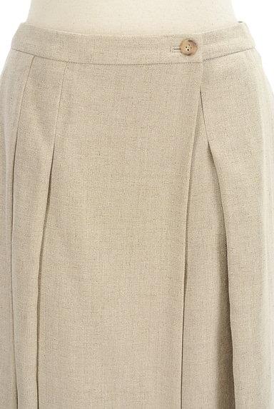 HUMAN WOMAN(ヒューマンウーマン)の古着「ナチュラルワイドミモレパンツ(パンツ)」大画像4へ