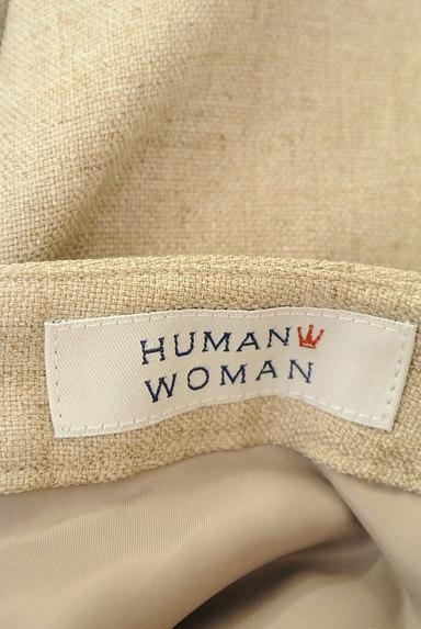 HUMAN WOMAN(ヒューマンウーマン)の古着「ナチュラルワイドミモレパンツ(パンツ)」大画像6へ