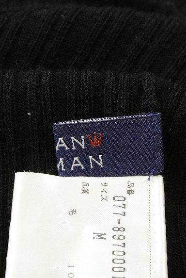 HUMAN WOMAN(ヒューマンウーマン)の古着「ベーシックリブ長袖タートルニット(ニット)」大画像6へ