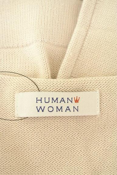 HUMAN WOMAN(ヒューマンウーマン)の古着「ドルマンショートニットソー(ニット)」大画像6へ