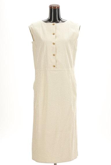 HUMAN WOMAN(ヒューマンウーマン)の古着「ストライプ柄ロングワンピース(ワンピース・チュニック)」大画像1へ