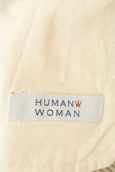 HUMAN WOMAN(ヒューマンウーマン)の古着「ストライプ柄ロングワンピース(ワンピース・チュニック)」大画像6へ