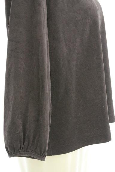 HUMAN WOMAN(ヒューマンウーマン)の古着「サイドボタンベロアカットソー(カットソー・プルオーバー)」大画像5へ