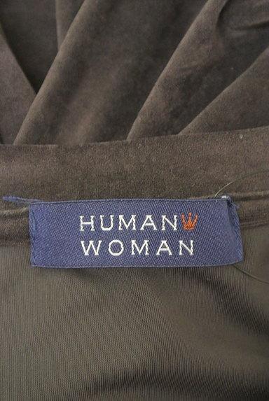 HUMAN WOMAN(ヒューマンウーマン)の古着「サイドボタンベロアカットソー(カットソー・プルオーバー)」大画像6へ