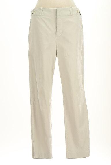 HUMAN WOMAN(ヒューマンウーマン)の古着「シンプルストレートコットンパンツ(パンツ)」大画像1へ