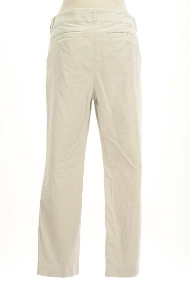 HUMAN WOMAN(ヒューマンウーマン)の古着「シンプルストレートコットンパンツ(パンツ)」大画像2へ