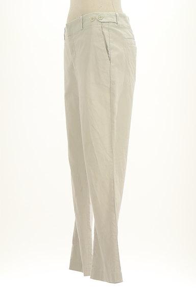 HUMAN WOMAN(ヒューマンウーマン)の古着「シンプルストレートコットンパンツ(パンツ)」大画像3へ