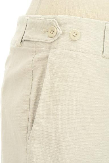 HUMAN WOMAN(ヒューマンウーマン)の古着「シンプルストレートコットンパンツ(パンツ)」大画像4へ