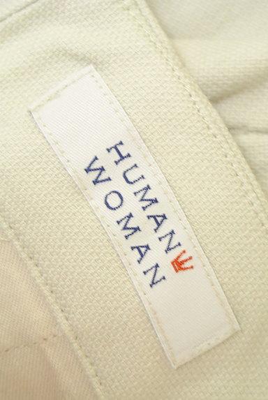 HUMAN WOMAN(ヒューマンウーマン)の古着「シンプルストレートコットンパンツ(パンツ)」大画像6へ