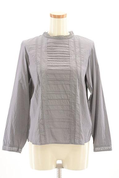 HUMAN WOMAN(ヒューマンウーマン)の古着「バックタック刺繍ブラウスカットソー(カットソー・プルオーバー)」大画像1へ