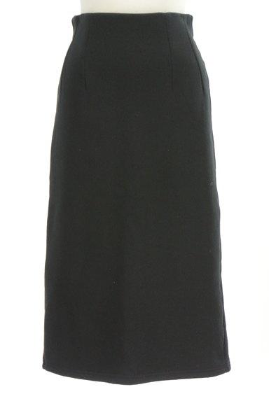 MOUSSY(マウジー)の古着「裏起毛ミモレ丈スウェットスカート(ロングスカート・マキシスカート)」大画像1へ