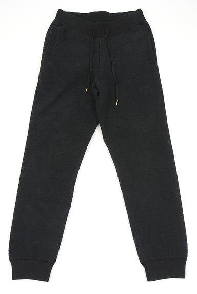 AZUL by moussy(アズールバイマウジー)の古着「モールニット裾リブパンツ(デニムパンツ)」大画像1へ